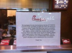 What in the world is Chick-Fil-A thinking? This is how they respond to being dumped by The Muppets?...