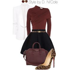 A fashion look from December 2014 featuring Isa Arfen tops, MANGO blazers and Christian Louboutin pumps. Browse and shop related looks.
