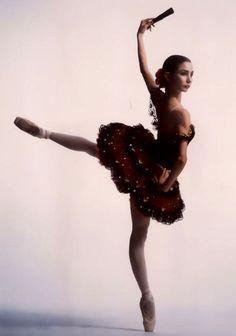 "Tamara Rojo in ""Spanish"" #Nutcracker #DonQuixote"