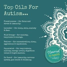 doTERRA Essentail Oils for Autism, ADHD and ADD…