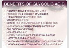 Benefits of Glycolic Acid. My fave is NeoCutis face wash. Glycolic acid is commo… - Face Care Glycolic Peel, Glycolic Acid, Acne Dark Spots, Exfoliating Face Scrub, Chemical Peel, Sagging Skin, Organic Skin Care, Organic Beauty, Face Care