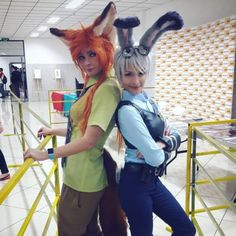 These Ladies Are Perfect As Judy Hopps And Nick Wilde