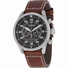 citizen eco drive avion chronograph