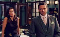 Rafael and Olivia in 14x24 Her Negotiation. Like Liv's sleeveless v neck top too.