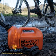 The multi-award winning Mud Daddy® is the perfect solution for cleaning, washing & rinsing dogs, boots, bikes… in fact anything that's dirty! We've all been there. Heading back to the car with that cheeky pooch who just had to lie in that puddle. Or the kids, wellies caked in mud just days after you had the car valeted. We have! and that's why we invented the Mud Daddy. Car Valet, Dog Wash, Mud, Inventions, Daddy, Bike, Cleaning, Dogs, Camping