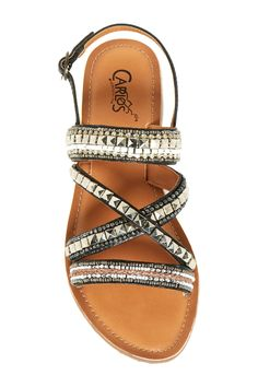 Studded!  Carlos By Carlos Santana Mia Embellished Sandals