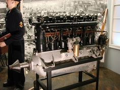 The first BMW – BMW IIIa BMW IIIa was an inline six-cylinder SOHC valvetrain, water-cooled aircraft engine, the first-ever product from BMW GmbH. Bmw I3, Aircraft Engine, Luftwaffe, Le Mans, Old Pictures, Inline, Archive, Twitter, Comme