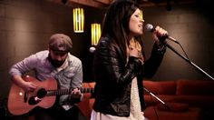 "Kari Jobe ""Find You On My Knees"" at RELEVANT. These lyrics are so powerful and I lovee her voice."