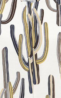 Cactus Print Shift Dress by MSGM for Preorder on Moda Operandi