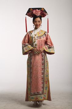 cd10be4ce Chinese Qing Dynasty style. Large-scale costume drama: harem Zhen Huan  Zhuan.