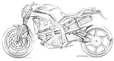 Motorcycle sketches and renderings produced with different mediums, I love using pencils the most. Motorcycles are my weaknesses and drives my passion for design and all aspects of life.