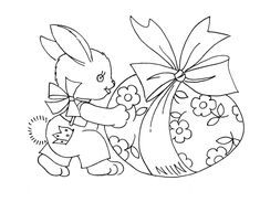 bunny and egg   Flickr - Photo Sharing!