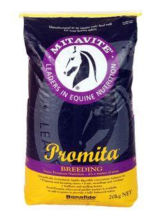 Promita® | Mitavite  #mitavite #horsefeeds #horses #equine #equestrian #promita #steamextruded #essentialaminoacids #bonafide #growth #development #lowstarch #highprotein