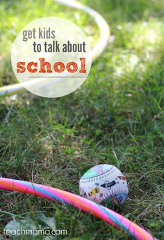how to get kids to talk about school: what every parent must know | teachmama.com  #quakerup #sponsored #backtoschool   --> what works for YOUR kids?