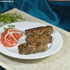 Kebaby z jagnięciny (Lamb Seekh Kebab)