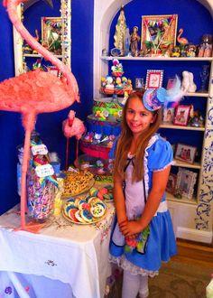 "Photo 3 of 35: Alice In Wonderland Inspired / Birthday ""Alice in Wonderland by Bella Bella Studios""   Catch My Party"