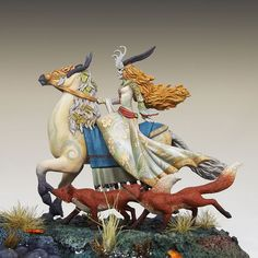 Tam Lin - Mounted Fairy - Stephanie Law Masterworks - Miniature Lines