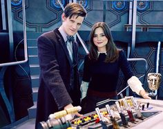 Dr Who and Clara