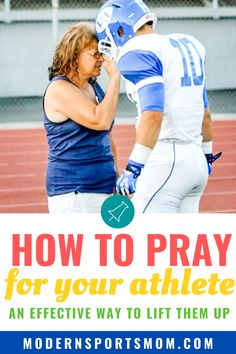 Learning how to pray for our children is an absolute must for Christian parents, whether they are athletes or not. This guideline on how to pray for your athlete, your friends, and even your enemies!