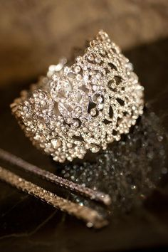lace diamond ring