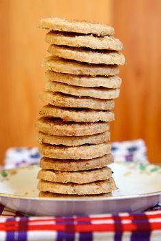 Lavender Shortbread Cookies from Joy the Baker (http://punchfork.com/recipe/Lavender-Shortbread-Cookies-Joy-the-Baker)