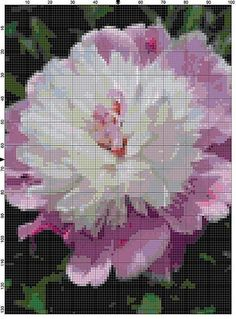 Cross Stitch Pattern Cora Stubbs Lavender by theelegantstitchery