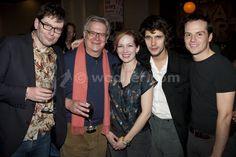 Katherine Parkinson with James MacDonald, Paul Jesson, Ben Whishaw & Andrew Scott - katherine-parkinson Photo