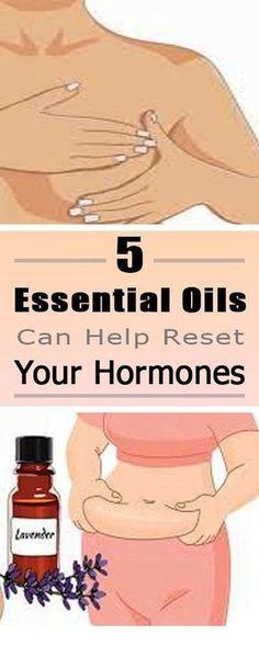 5 Essential Oils Can Help Reset Your Hormones. #essentialoils #hormones #selfcare #healthcare