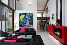 A Clever Commercial Transformation with an Escea Fireplace