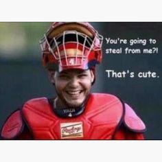 Yadier Molina! Best catcher EVER!