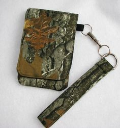 Camouflage Cell Phone Case with quick release key by adfabinidaho, $35.00