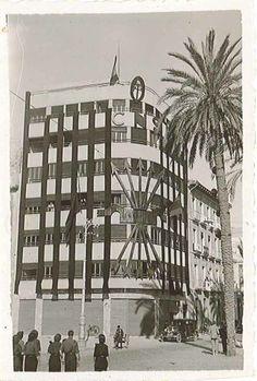 20 de noviembre de 1939. Es el Edificio Galiana (Juan Bautista Lafora 1 junto al Palas).