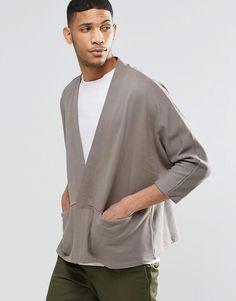 ASOS Jersey Kimono Cardigan With Zip £30