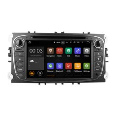 Quad core Android 5.1 Car dvd player stereo for Ford/Mondeo/S-MAX/C-MAX/Galaxy/focus 2008 2009 2010 2011 GPS navigation Radio #Affiliate