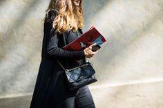 Street Style from Paris Fashion Week Spring 2014 - Paris Fashion Week Spring 2014 Street Style, Day 3-Wmag