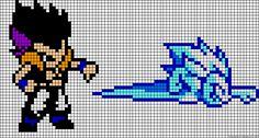Dragon Ball Z Gotenks bead pattern