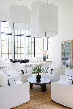37 Awesome White Living Room Ideas - Modul Home Design Living Room Colors, Formal Living Rooms, Living Room Designs, Modern Living, Contemporary Living Rooms, Modern Contemporary, Elegant Living Room, Contemporary Kitchens, Simple Living