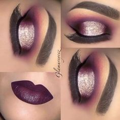 Eye Makeup Looks Silver some Eye Makeup Remover On; Eye Makeup With Red And Gold Dress. Kiss Makeup, Love Makeup, Makeup Inspo, Makeup Inspiration, Awesome Makeup, Gorgeous Makeup, Makeup Goals, Makeup Tips, Makeup Ideas