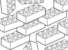 Lego coloring page for kids printable free Lego Coloring Pages