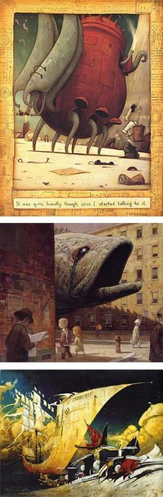 Shaun Tan - illustration from The Lost Thing