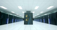 Super Computers - Made In China - It's got 93 petaflops. That's a lot of flops.