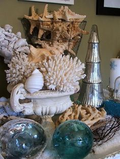 Coastal Christmas With Seashells