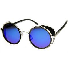 Vintage Steampunk Studio Cover Revo Lens Sunglasses - zeroUV