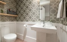 Love It Or List It Vancouver--After: Powder Room