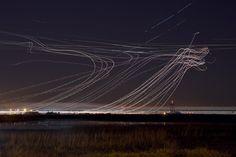 Long-exposure air traffic