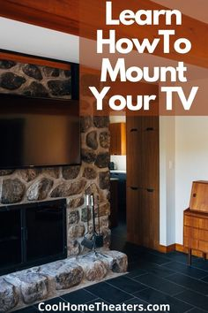 Learning How To Mount Your Own Television should be simple and easy. That is why We are Sharing with our helpful and Simple Steps to Carefully Mounting a TV on the Wall| Plus Get more Details on Ways to Avoid Putting Holes In The Wall And Your Pocket Book. Don't Delay Learn Today! Basement Remodeling, Remodeling Ideas, Best Home Theater System, Sound Installation, Hide Wires, Build Your Own House, Surround Sound Systems, Wall Mounted Tv, Home Cinemas
