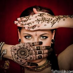 Other Tattoos & Body Art Fresh Kaveri Quality Dark Brown Indian Arabic Henna Mehndi Body Art Tattoo Cones Mehndi Tattoo, Henna Tattoos, Golecha Henna, Indian Henna, Arabic Henna, Henna Tattoo Designs, Henna Art, Body Art Tattoos, Easy Henna
