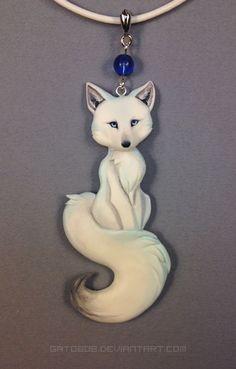 Resultado de imagen para coyote fox wolf fimo polymer clay tutorial