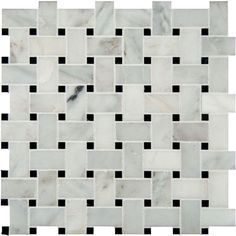 Home Depot basket weave option. MS International Greecian White Basketweave 12 in. x 12 in. x 10 mm Honed Marble Mesh-Mounted Mosaic Tile sq. / case)-SMOT-ARA-BWP - The Home Depot Stone Mosaic Tile, Marble Mosaic, Mosaic Wall, Mosaic Tiles, Wall Tiles, Tiling, Honed Marble, Marble Wall, Basket Weave Tile