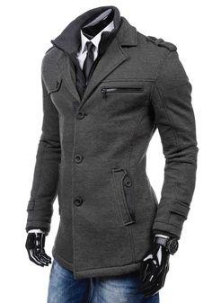 JUST BOY 8312 Cappotto uomo Giubbotto Invernale Cappotto caldo Felpa 4D 4 Zip | eBay